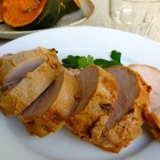 Broiled Glazed Pork Tenderloin