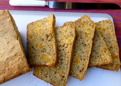 Weight Watchers Apricot Poppyseed Bread