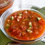 Weight Watchers Easy Chunky Gazpacho