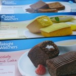 Boxes of Weight Watchers Snack Cakes