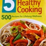 5 Steps to Healthy Cooking Book Cover Photo