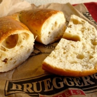 Bruegger's Rosemary Olive Oil Bagel