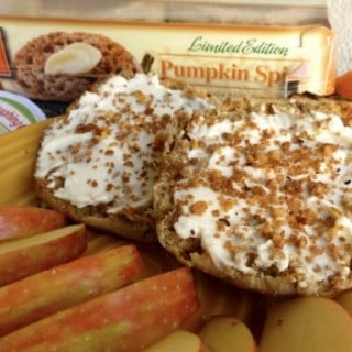 "Weight Watchers Friendly Pumpkin Spice Cheese ""Danish"""