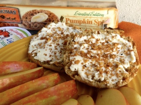 Light and Healthy Pumpkin Cheese Danish