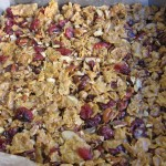Maple Cranberry Crunch No Bake Cereal Bars