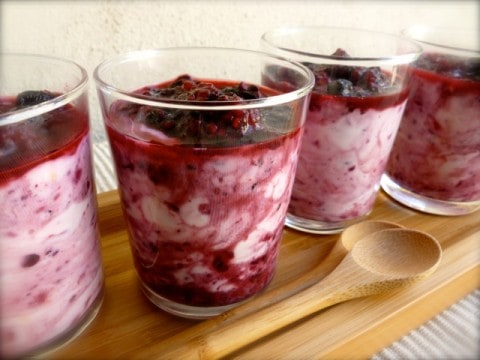 Skinny Lemon Triple Berry Fool