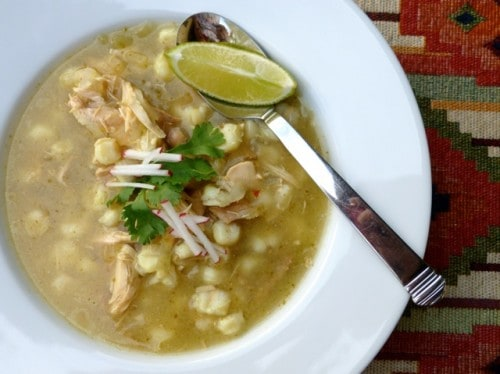 Healthy Slow Cooker Chicken Recipes - Easy Chicken Posole