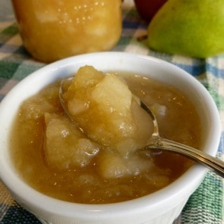 Pear Apple Compote with Honey
