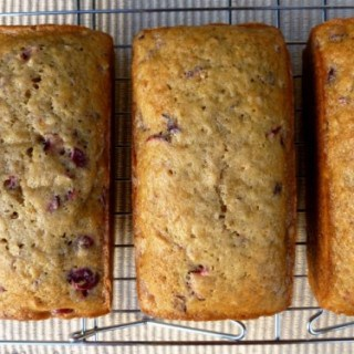 Cranberry Mini Loaves