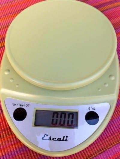 Escali Digital Food Scale