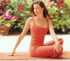 Relieve Stress with a Simple Seated Yoga Twist