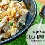 Weight Watchers Chicken Quinoa Salad