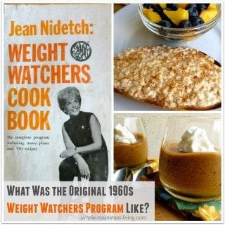 1960s Weight Watchers Program