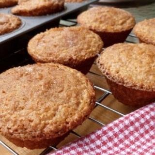 Eggnog Oatmeal Muffins