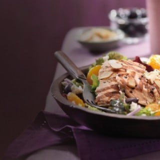 Paradise Bakery Mediterranean Salmon Salad – A Weight Watchers Friendly Lunch Option with 9 PointsPlus