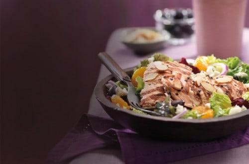 Paradise Bakery Mediterranean Salmon Salad
