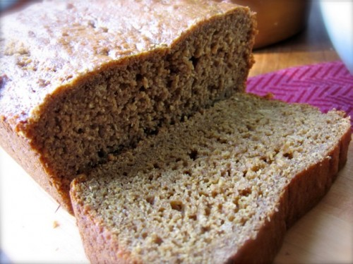 Low Fat Whole Wheat Quick Bread