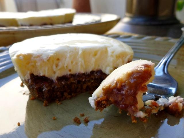 Skinny Mini Raspberry Cheesecake