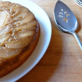 Betty Crocker's Quick & Easy Pear Upside Down Cake