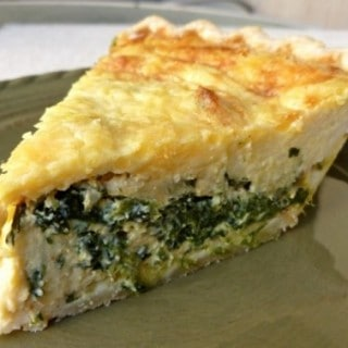 Weight Watchers Friendly Recipes - Spinach Quiche