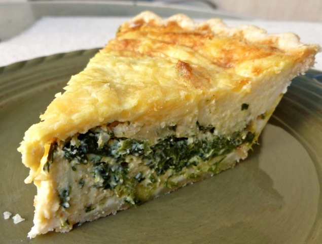 Spinach Quiche | Weight Watchers Recipes | Simple Nourished Living
