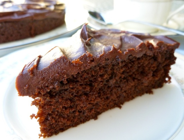 Chocolate Stout Cake with Ganache | Weight Watchers Friendly Recipes