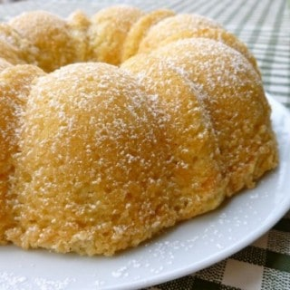 Lemon Coconut Tea Cake