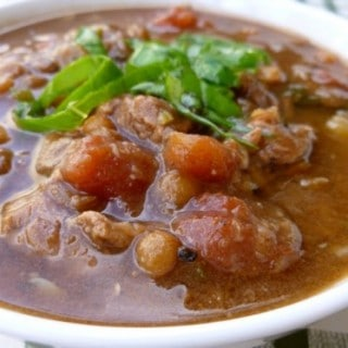 Weight Watchers Italian Beef and Lentil Slow Cooker Soup – 4 SmartPoints