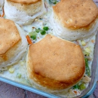 Easy Chicken and Biscuit Pot Pie
