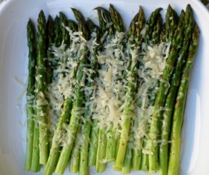 Ina's Parmesan Roasted Asparagus
