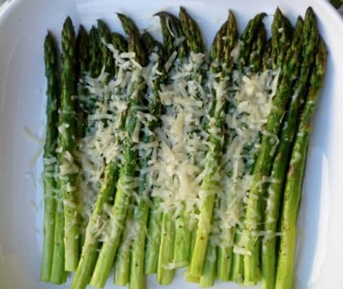 Parmesan Roasted Asparagus - 2 Weight Watchers Freestyle SmartPoints