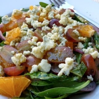 Mixed Greens with Oranges and Grapes 4 Weight Watchers SmartPoints