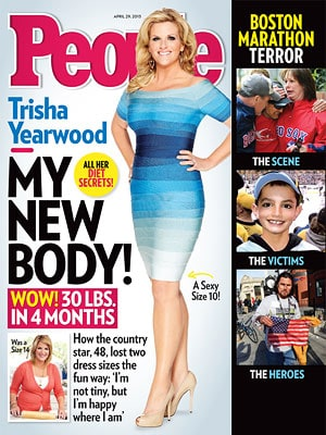Trisha Yearwood Weight Loss Story in People Magazine