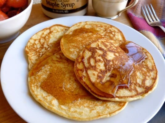 Cottage Cheese Power Pancakes