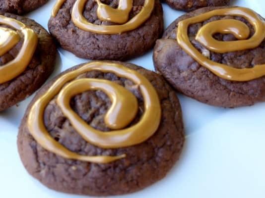 Kahlua White Chocolate Chunk Brownie Mix Cookies