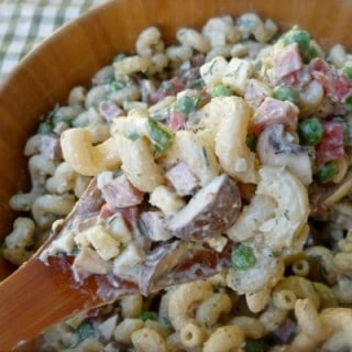 Peas and Ham Pasta Salad – 5 SmartPoints