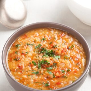 Tabbouleh Soup with Lentils and Bulgur – 2 WW Freestyle SmartPoints