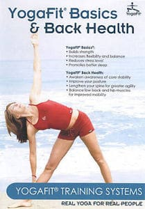 YogaFit Basics and Back Health DVD
