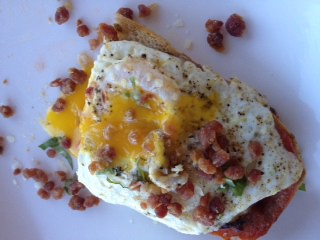 Brenda's Breakfast Bruschetta