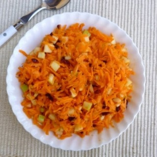 Weight Watchers 5 Ingredient 15 Minute Carrot Slaw