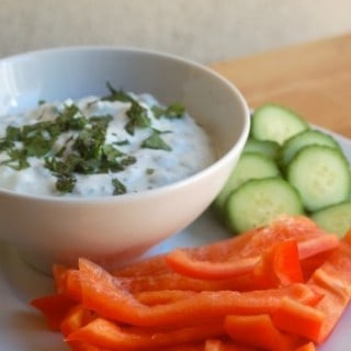 Skinny Greek Herb Dip Recipe