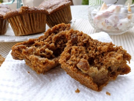 Ina's Chunky Low Fat Banana Bran Muffins