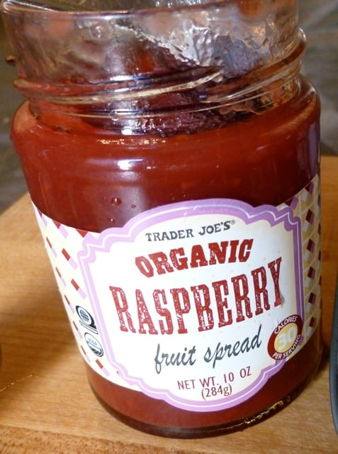 Jar of Raspberry Fruit Spread