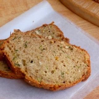 Mom's Lighter Zucchini Coconut Bread