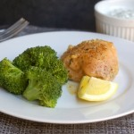 Simple Baked Lemon Chicken