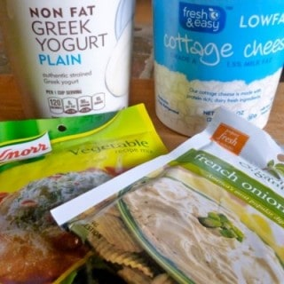 Skinny Dip Ingredients for Weight Watchers