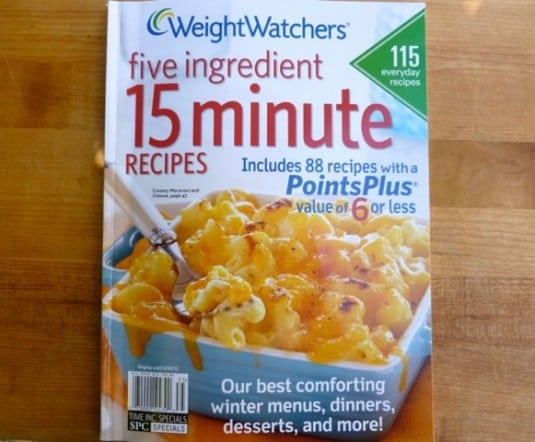 Weight Watchers Five Ingredient 15 Minute Recipes