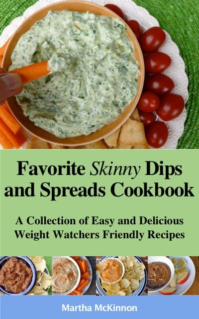 Skinny Dips and Spreads eCookbook recipes