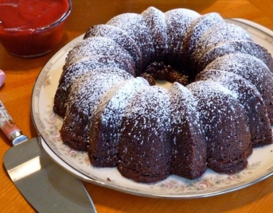 Tate's Chocolate Pound Cake