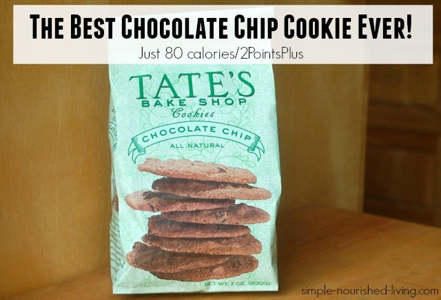 the best chocolate chip cookie ever tates bake shop 2 weight watchers points plus